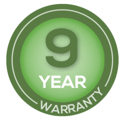 artificial grass 9 year warranty